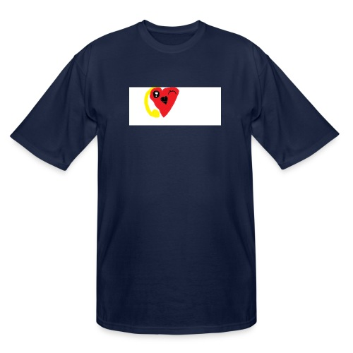 love heat - Men's Tall T-Shirt