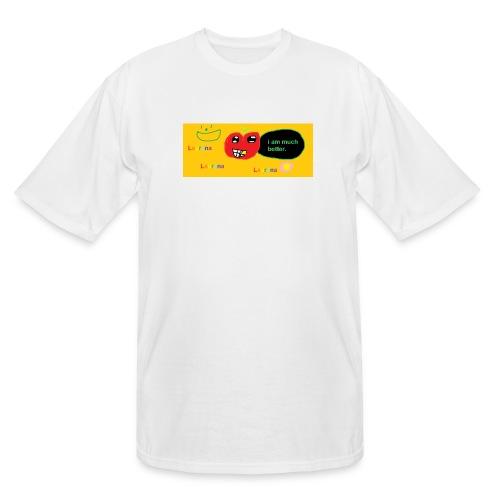 pechy vs apple - Men's Tall T-Shirt