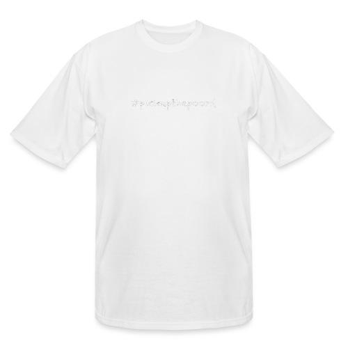 Pick up the poo dog shirt - Men's Tall T-Shirt
