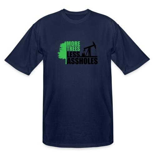 More Trees Less Assholes - Men's Tall T-Shirt
