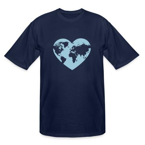 Earth Love - Men's Tall T-Shirt