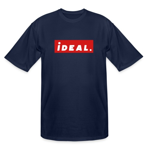 ideal Logo Red - Men's Tall T-Shirt
