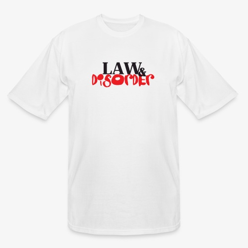Law DISORDER Logo - Men's Tall T-Shirt