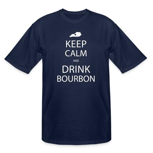 Keep Calm and Drink Bourbon - Men's Tall T-Shirt
