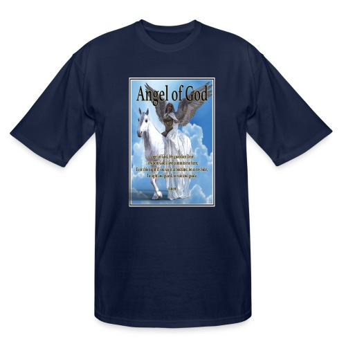 Angel of God, My guardian Dear (version with sky) - Men's Tall T-Shirt