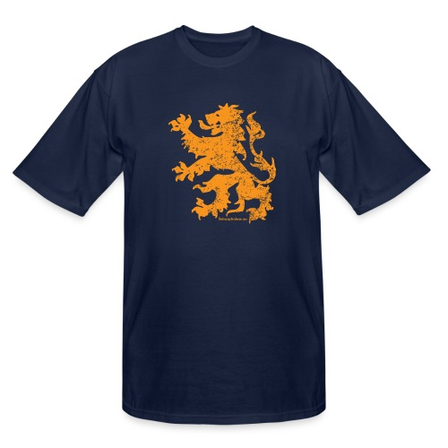 Dutch Lion - Men's Tall T-Shirt