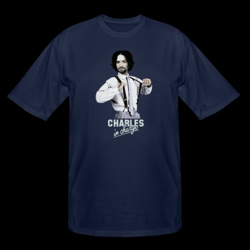 CHARLEY IN CHARGE - Men's Tall T-Shirt