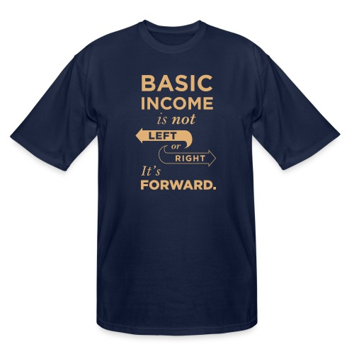 Basic Income Arrows V.2 - Men's Tall T-Shirt