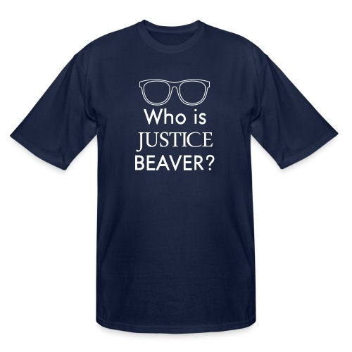 Who Is Justice Beaver - Men's Tall T-Shirt