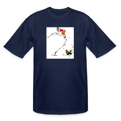 Lady Climber - Men's Tall T-Shirt