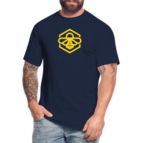 bee symbol orange - Men's Tall T-Shirt