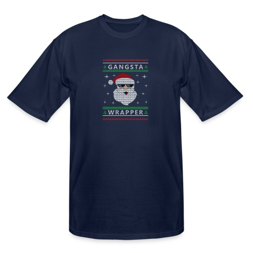 Christmas Gangsta Wrapper - Men's Tall T-Shirt