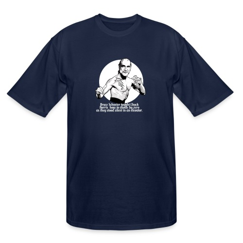 Bruce Schneier Fact #10b - Men's Tall T-Shirt