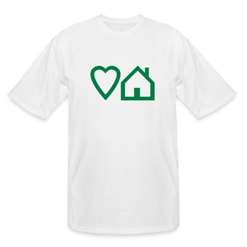 ts-3-love-house-music - Men's Tall T-Shirt