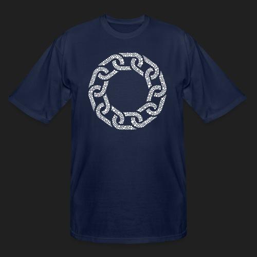Brotherhood Hex Design - Men's Tall T-Shirt
