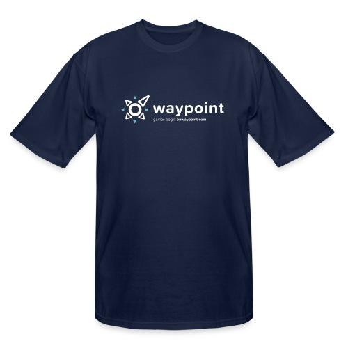 Waypoint Logo (Light Version) - Men's Tall T-Shirt