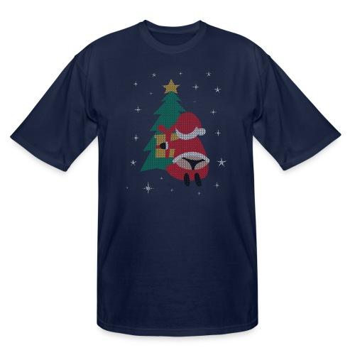 Ugly Christmas Sweater String Thong Santa - Men's Tall T-Shirt