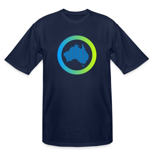 Gradient Symbol Only - Men's Tall T-Shirt