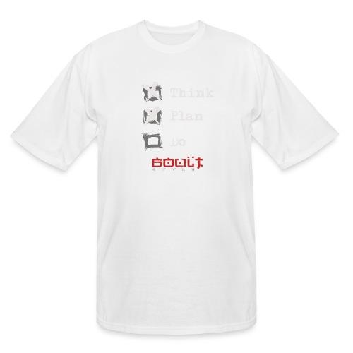 0116 Think Plan Do - Men's Tall T-Shirt