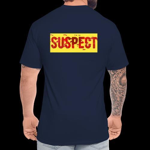 SUSPECT - Men's Tall T-Shirt