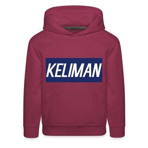 KeliMan Logo V1 - Kids' Premium Hoodie