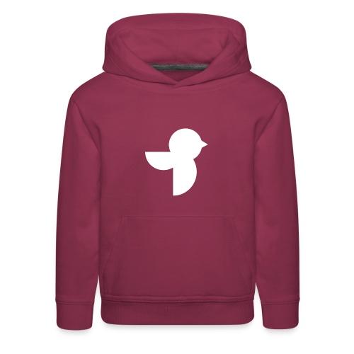 The White Sailea Logo - Kids' Premium Hoodie