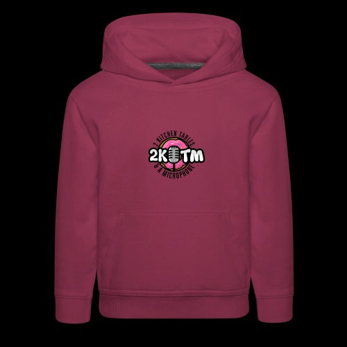 Two Kitchen Tables & A Microphone - Kids' Premium Hoodie