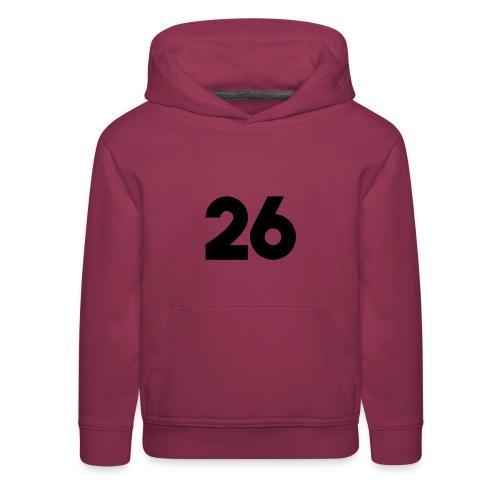 Main 26 logo - Kids' Premium Hoodie