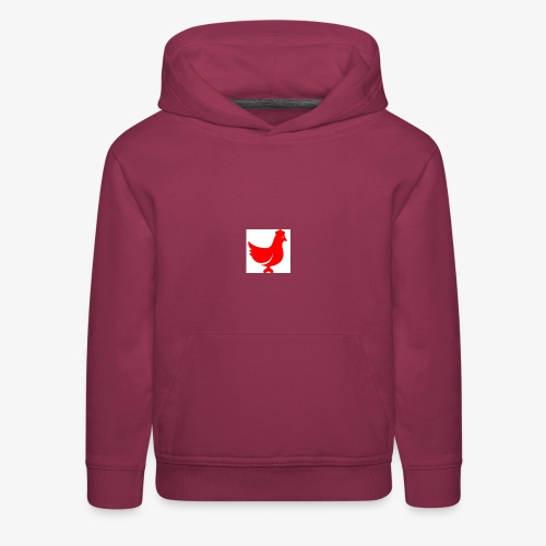 red chicken - Kids' Premium Hoodie