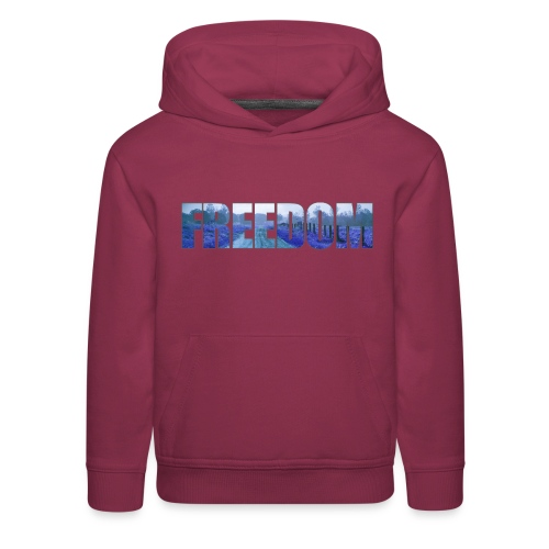 Freedom Photography Style - Kids' Premium Hoodie