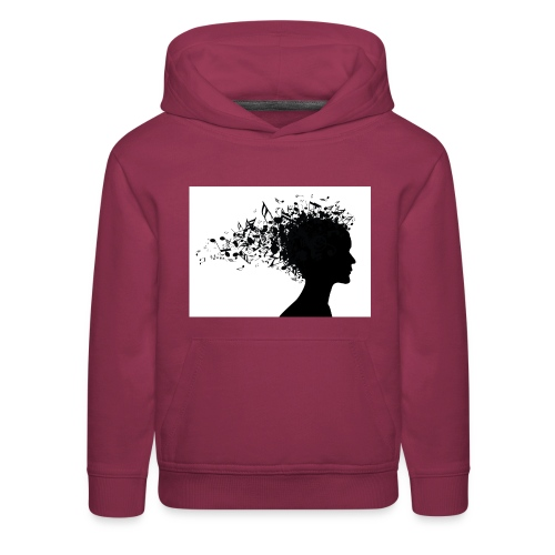 music through my head - Kids' Premium Hoodie