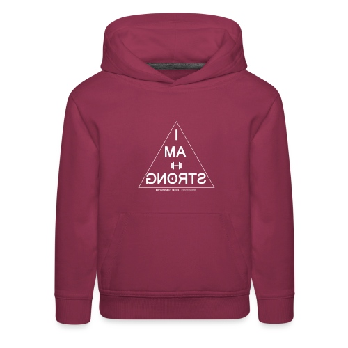 I am strong - Kids' Premium Hoodie