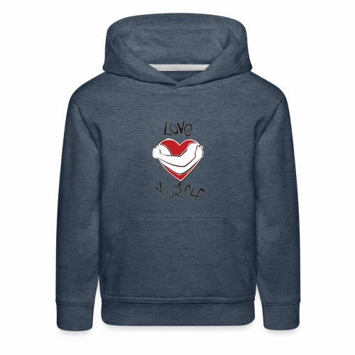 LOVE YOURSELF - Kids' Premium Hoodie