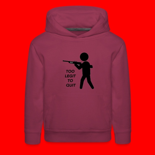OxyGang: Too Legit To Quit Products - Kids' Premium Hoodie