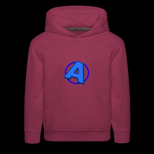 Awesomegamer Logo - Kids' Premium Hoodie