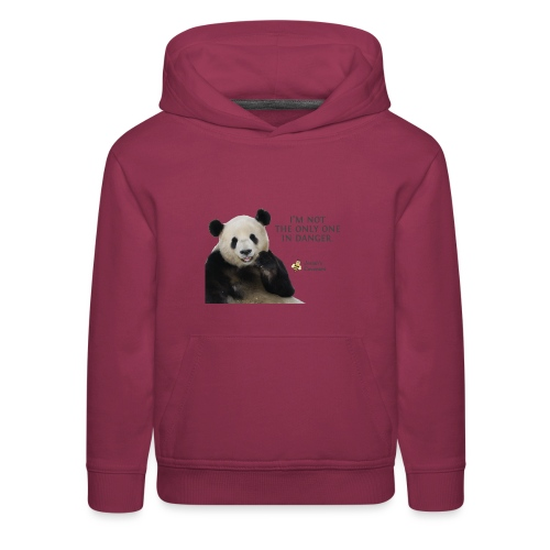 Endangered Pandas - Josiah's Covenant - Kids' Premium Hoodie
