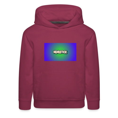 memestick symbol - Kids' Premium Hoodie