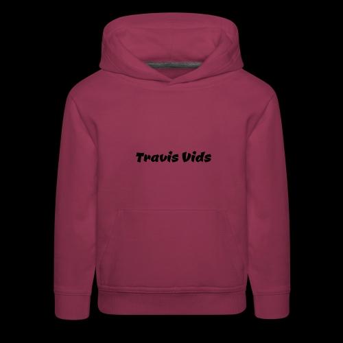 White shirt - Kids' Premium Hoodie