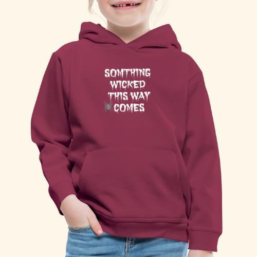 WICKED HALLOWEEN TEE - Kids' Premium Hoodie
