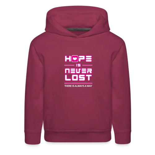 Hope is Never Lost - Kids' Premium Hoodie