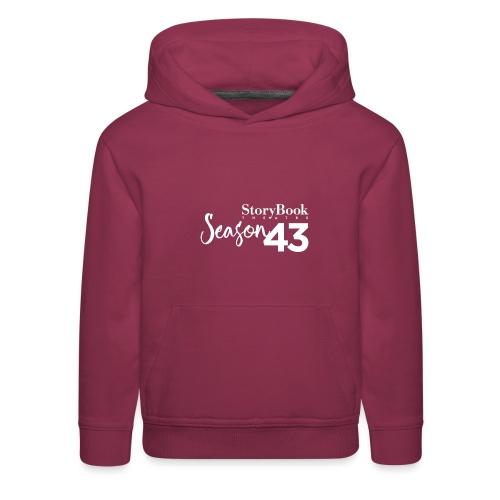 SBT43 Season43 LOGO WHT - Kids' Premium Hoodie