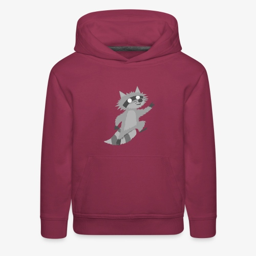 Raccoon - Kids' Premium Hoodie