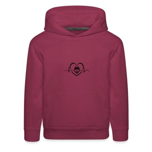 Love every beat for Husky T-Shirt - Kids' Premium Hoodie