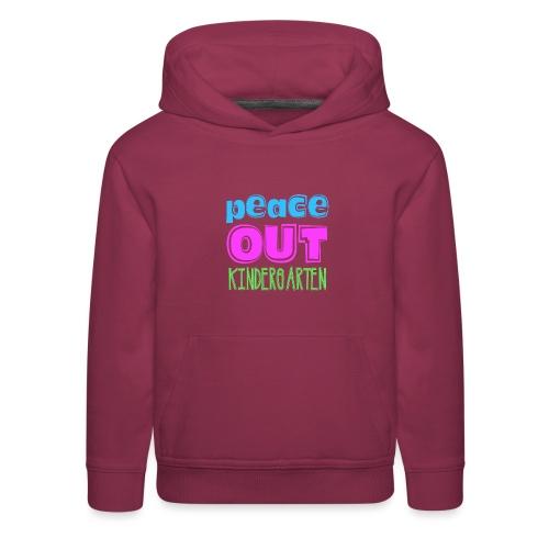 Kreative In Kinder Peace Out - Kids' Premium Hoodie