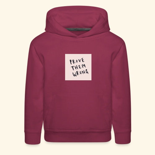 show em what you about - Kids' Premium Hoodie
