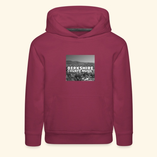 Berkshire County Music Black/White - Kids' Premium Hoodie