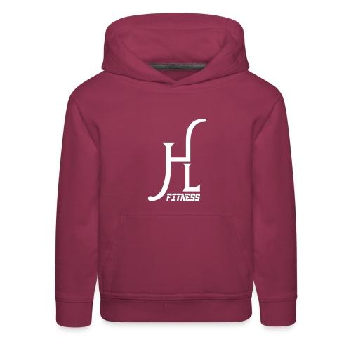 HLF Vector WHT - Kids' Premium Hoodie