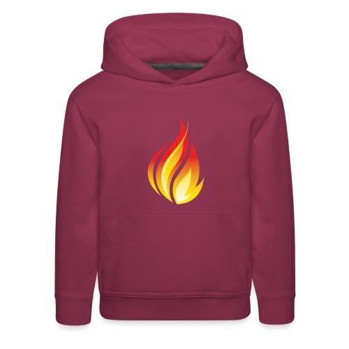 HL7 FHIR Flame Logo - Kids' Premium Hoodie