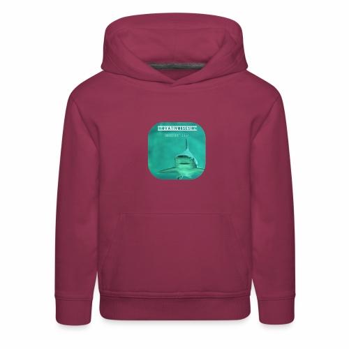 "InovativObsesion ""SHARKS DON'T SLEEP"" apparel - Kids' Premium Hoodie"