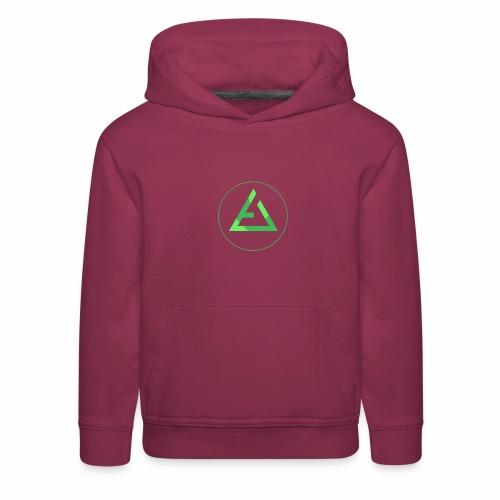 crypto logo branding - Kids' Premium Hoodie
